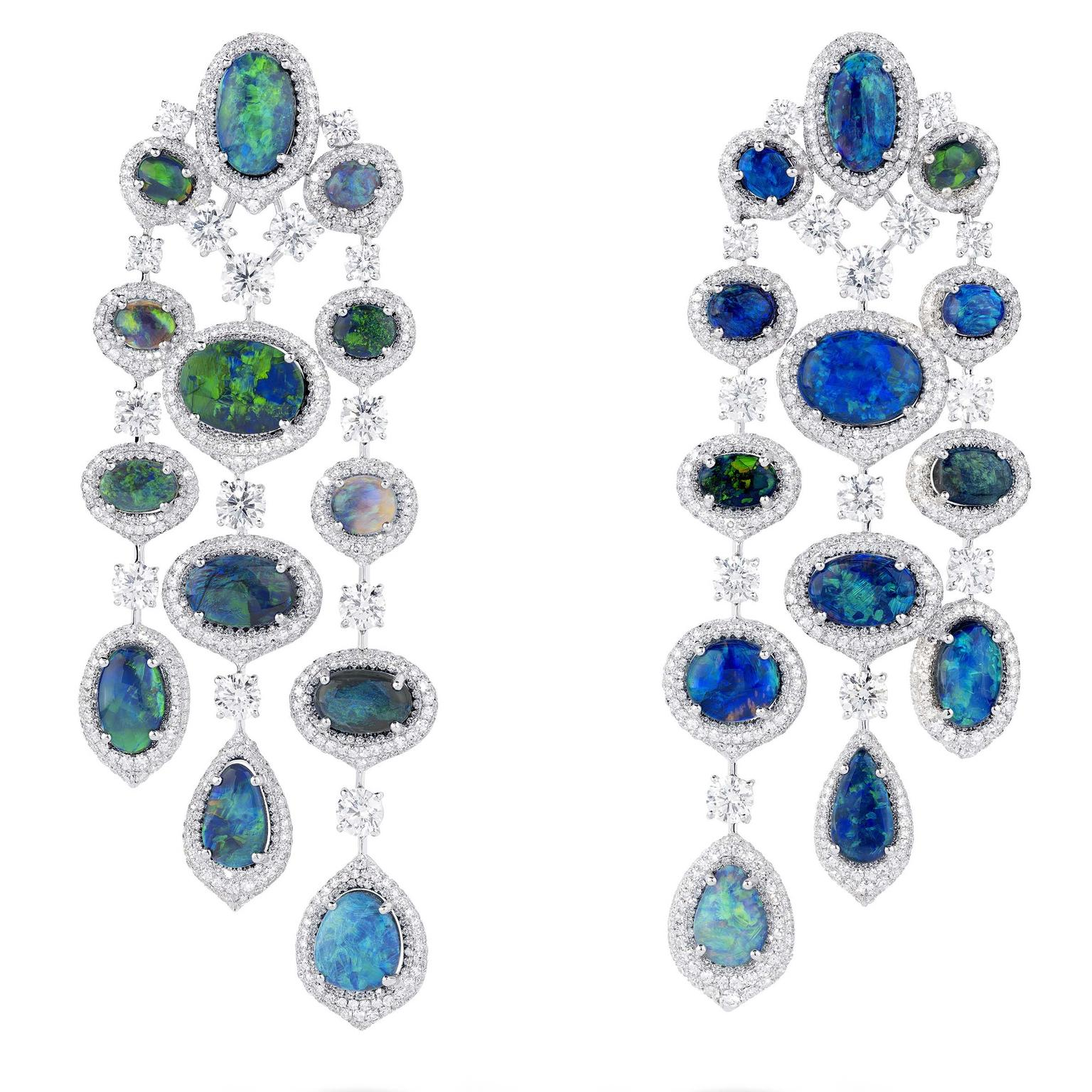 Chandelier earrings from David Morris