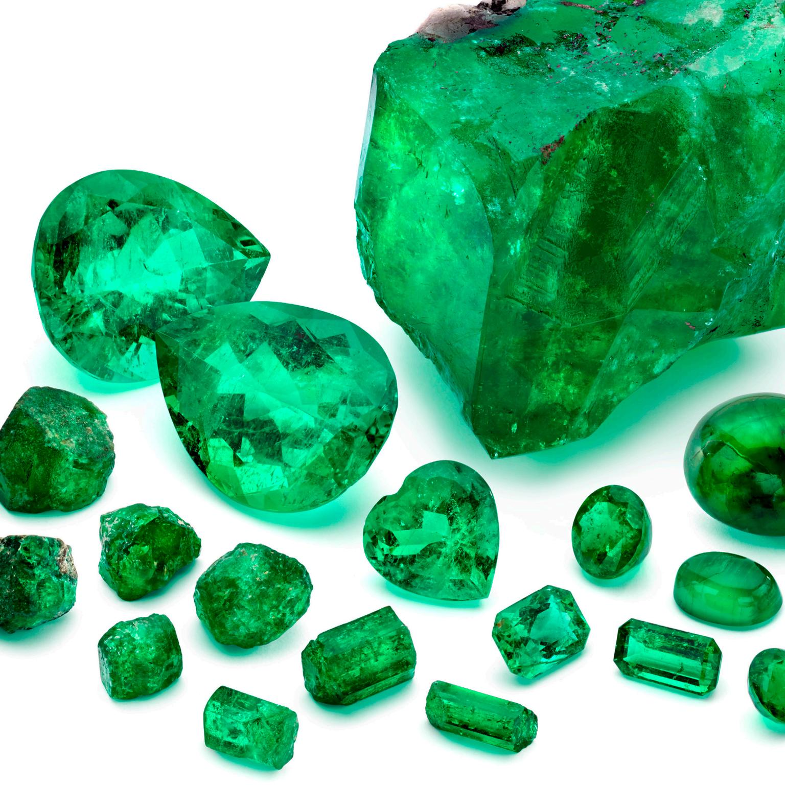 Marcial de Gomar Collection emeralds for auction