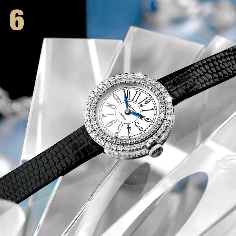 Struthers diamond watch