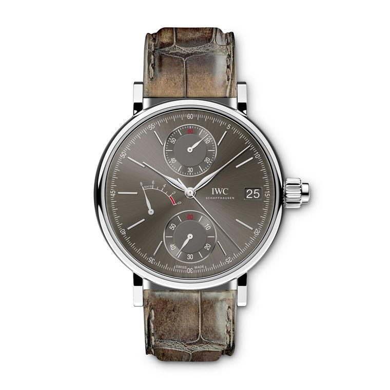 IWC Portofino Monopusher chronograph watch
