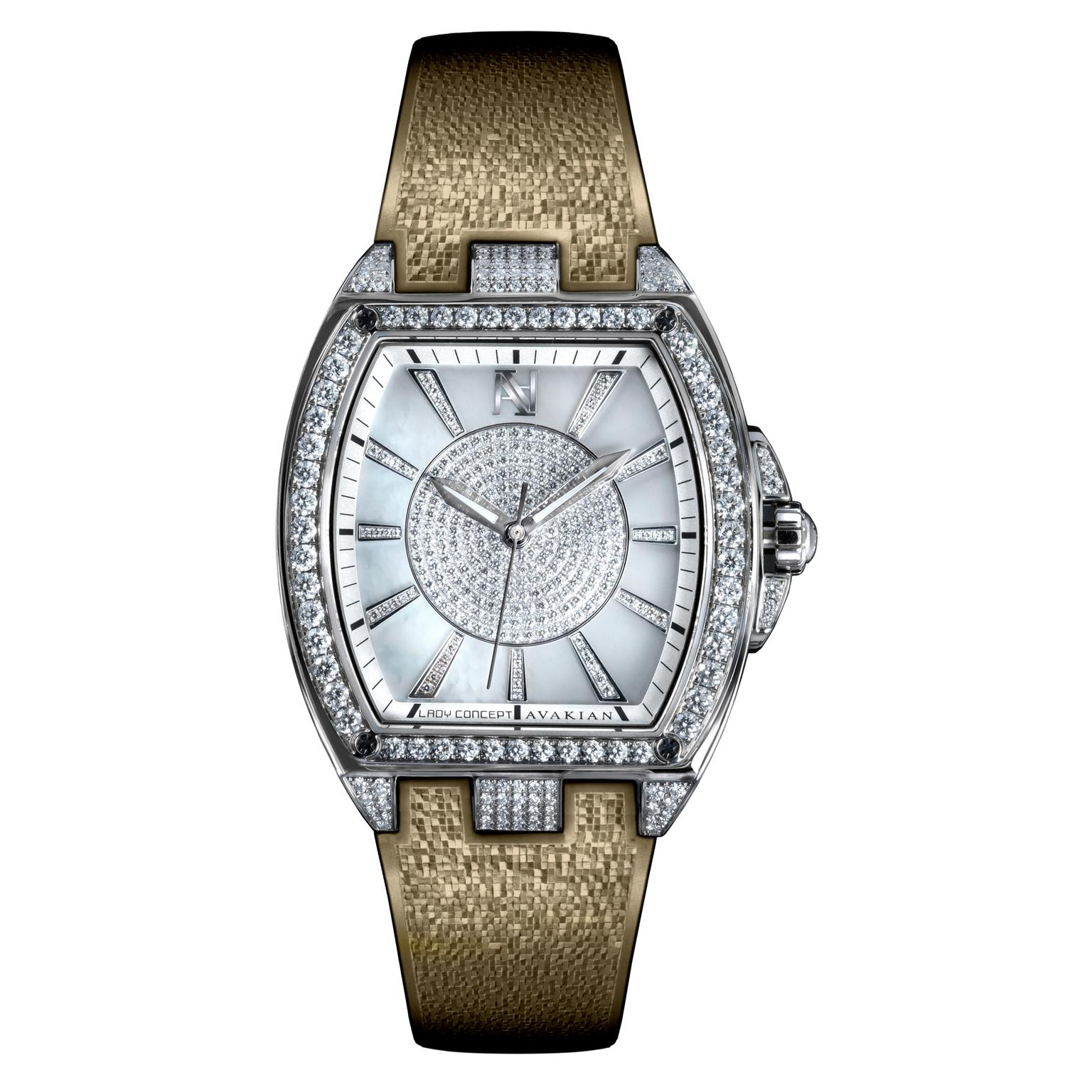 Avakian Lady Concept Taupe watch