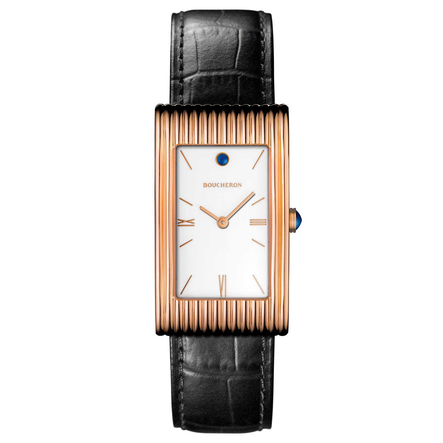 Boucheron Reflet large in rose gold
