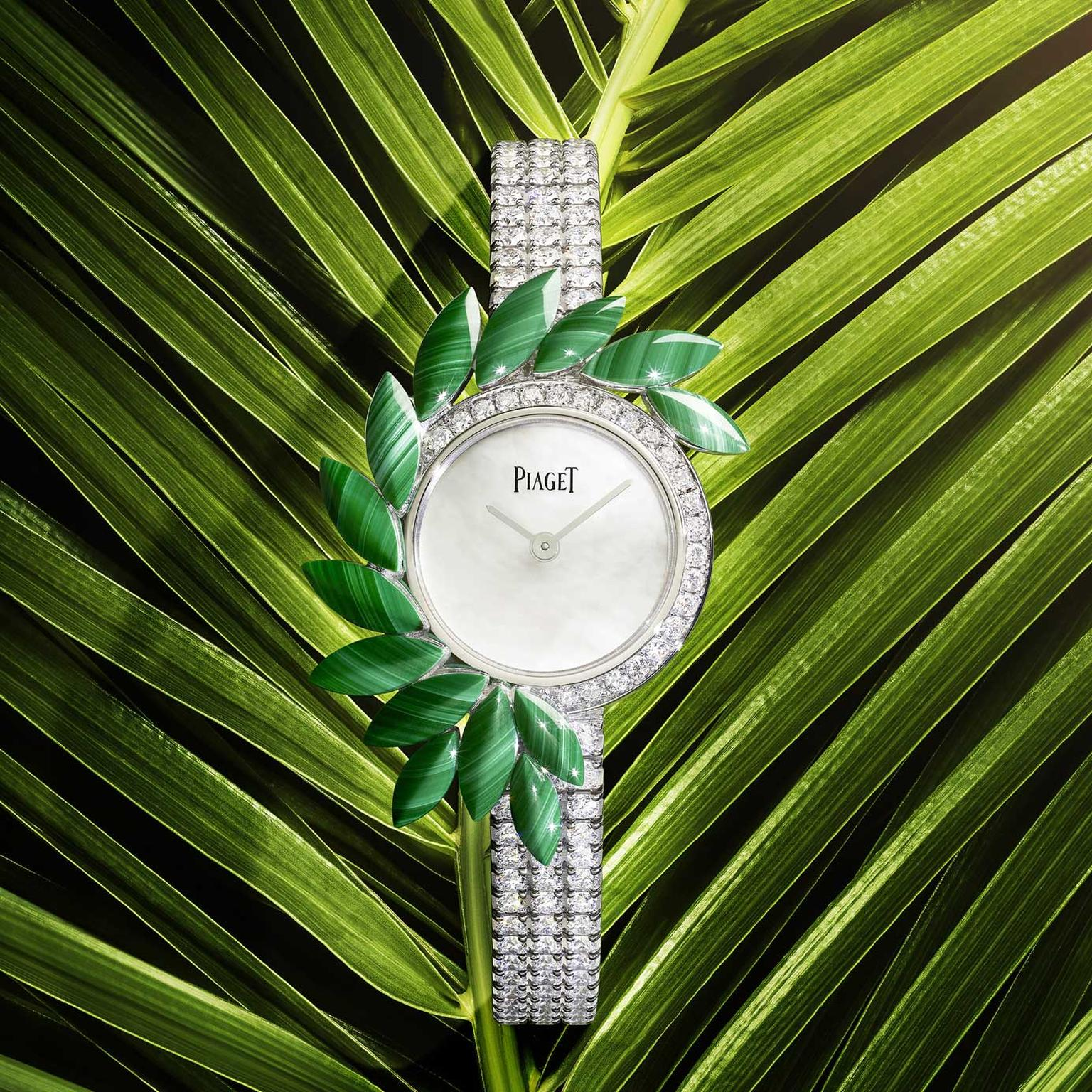 Piaget Golden Oasis Vegetal Lace Watch