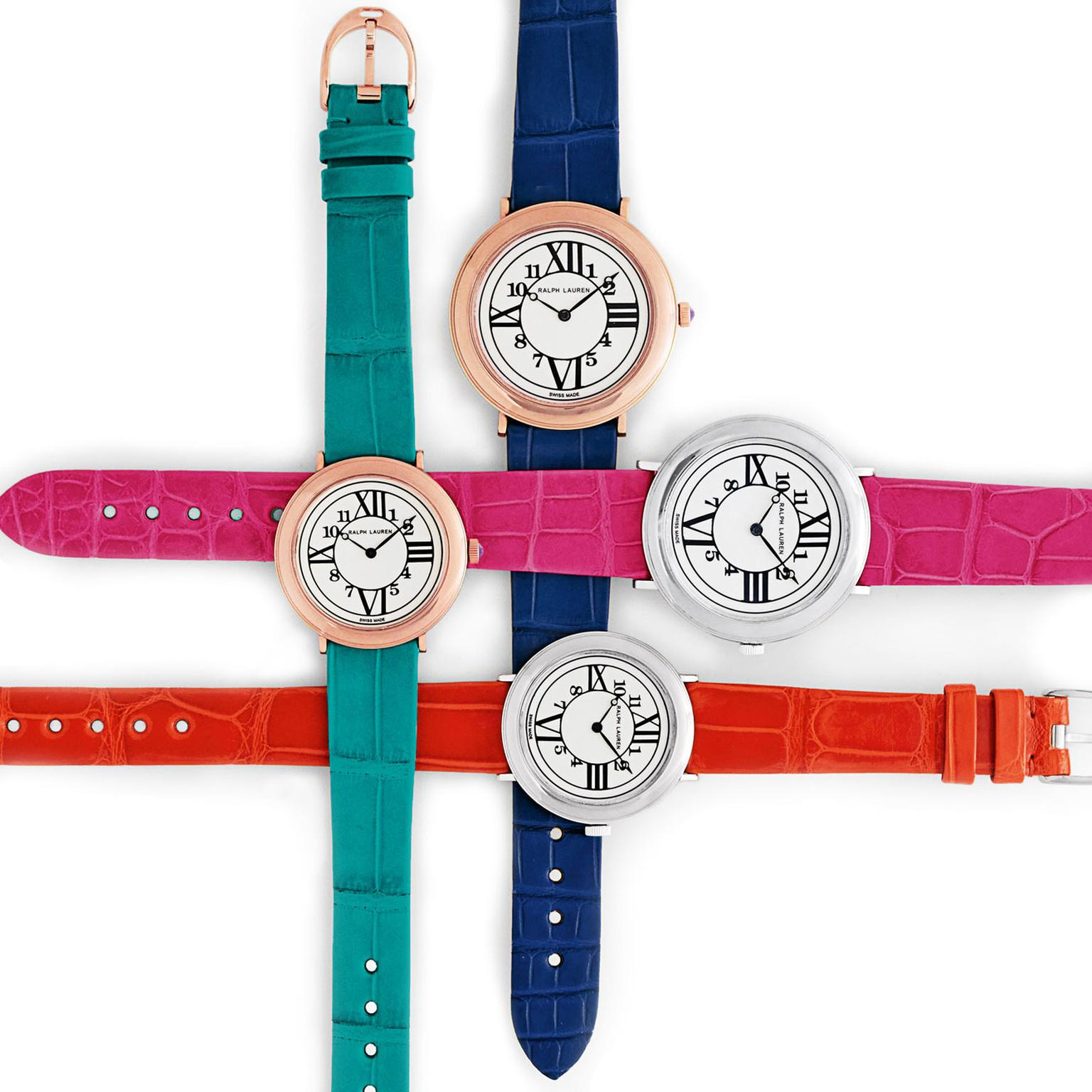 Ralph Lauren RL888 with interchangeable watch straps
