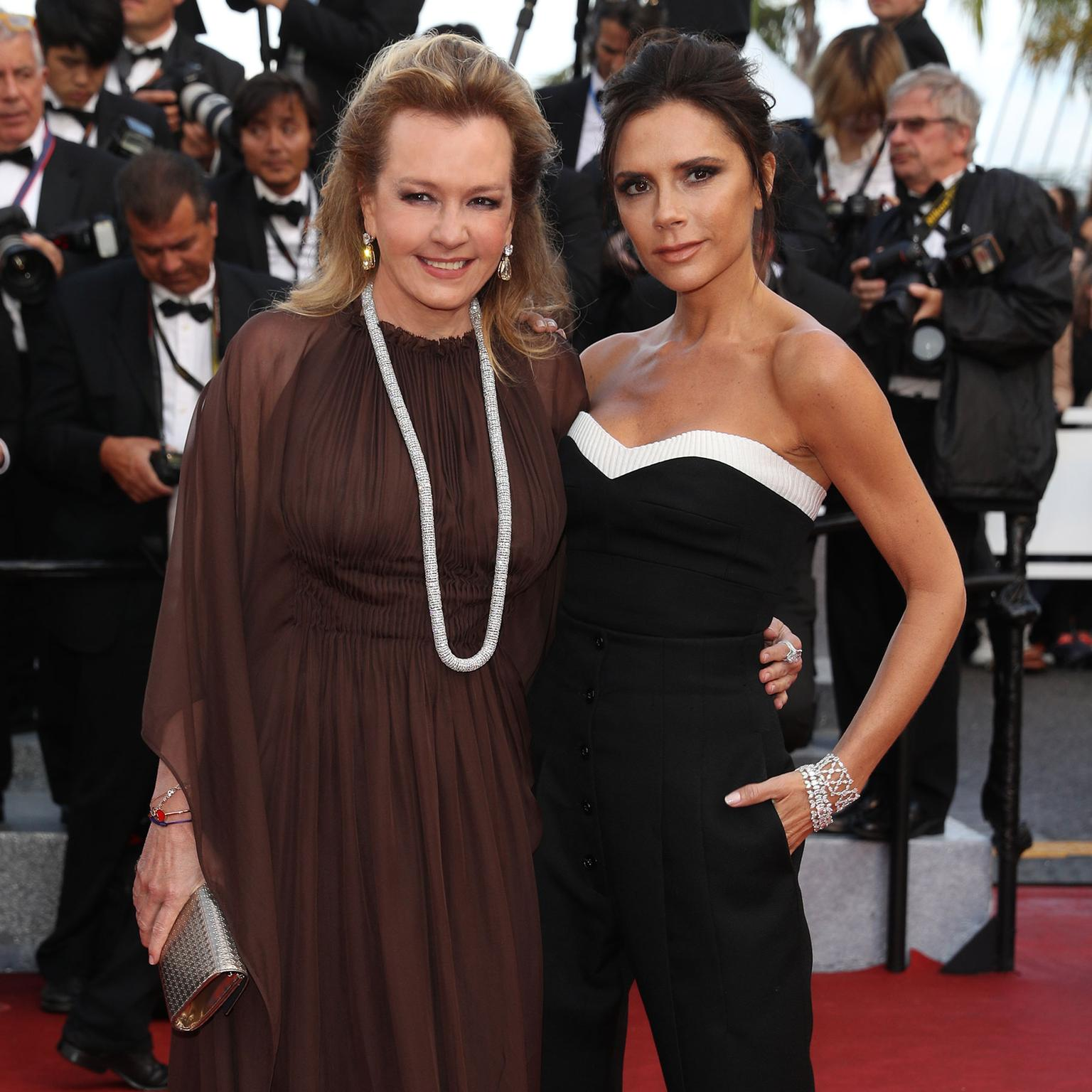 Cannes 2016 Day 1: Caroline Scheufele and Victoria Beckham in Chopard