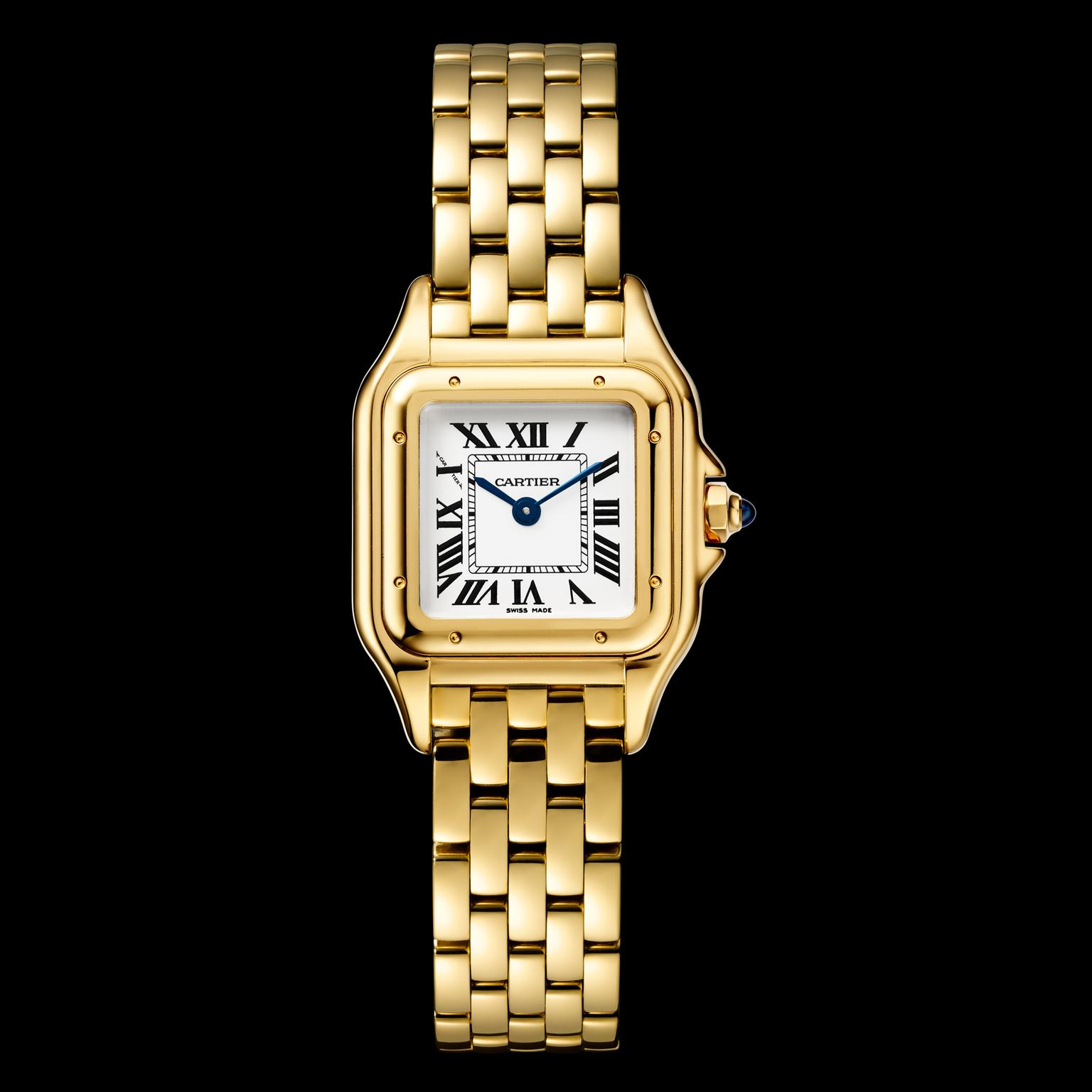 Panthère de Cartier watch in yellow gold