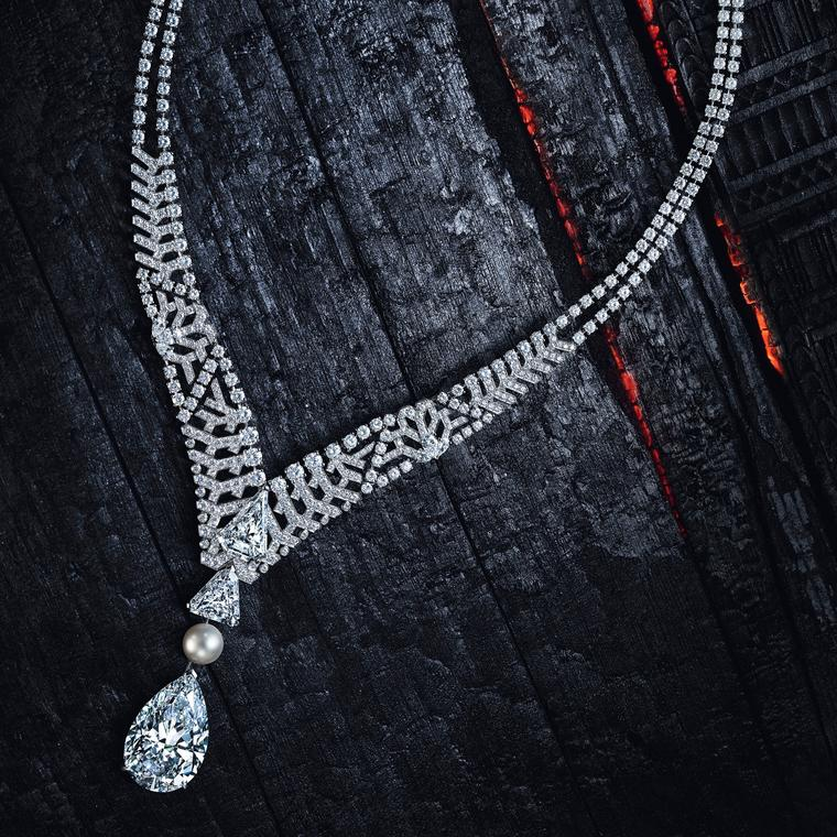 Cartier Pur Absolu diamond necklace