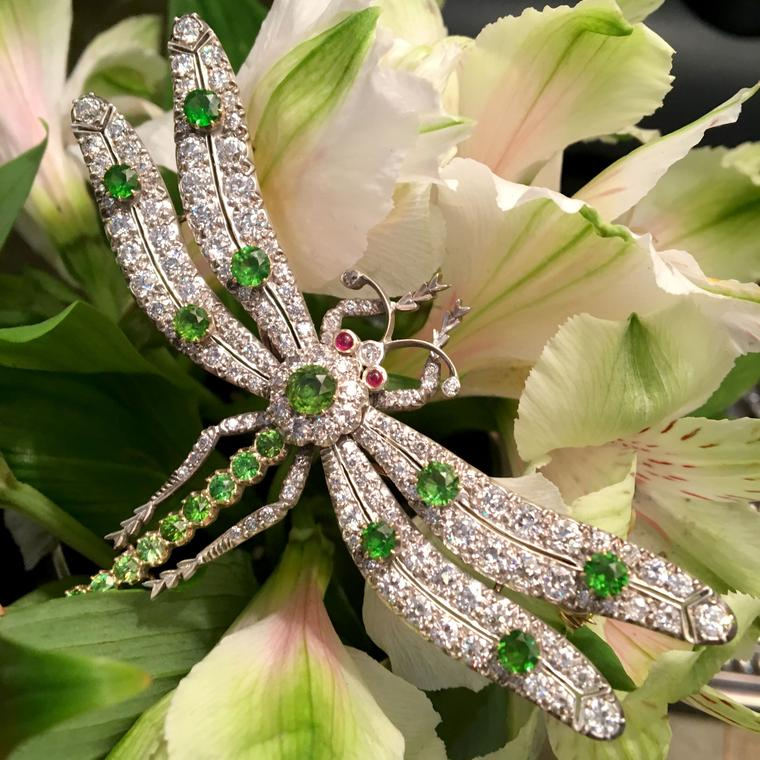 Bentley & Skinner Dragonfly brooch