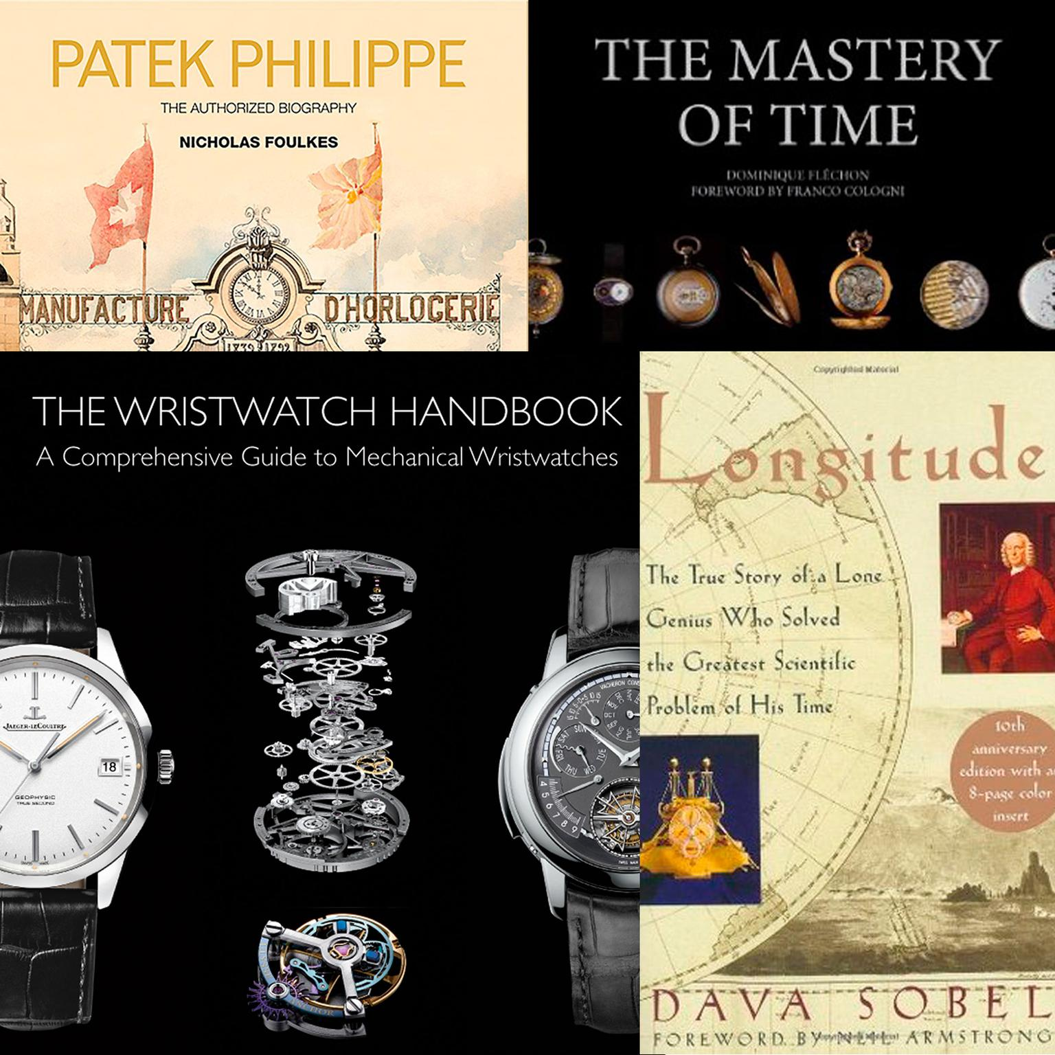 Our top watch books for Christmas