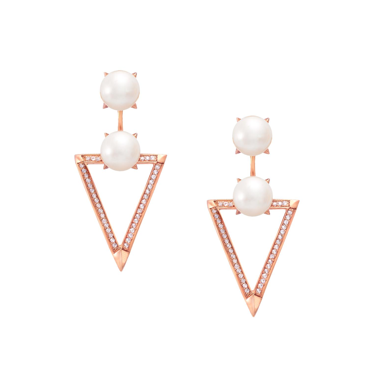 Sammie Jo Coxon Demeter pearl earrings