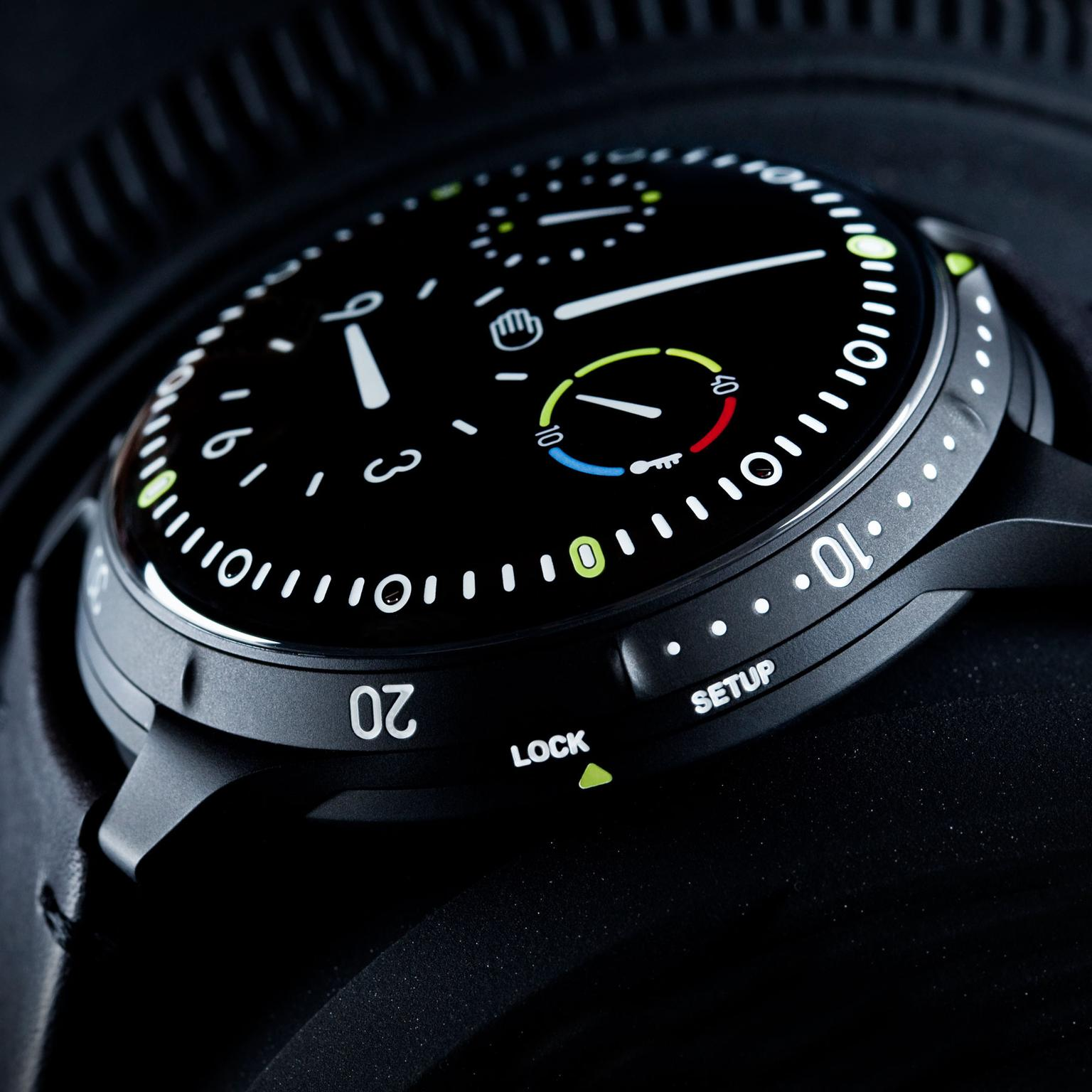 Ressence Type 5 Dive Watch from side