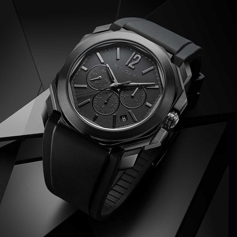 Bulgari Octo L Originale chronograph all black