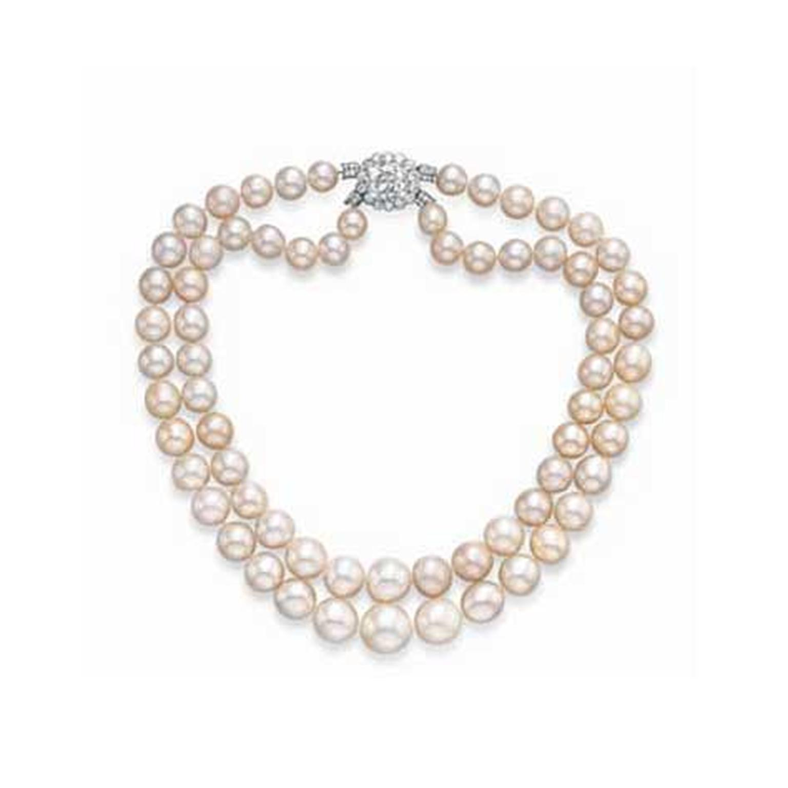 Baroda natural pearl necklace