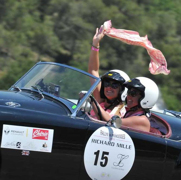 Richard Mille watches at Rallye des Princesses