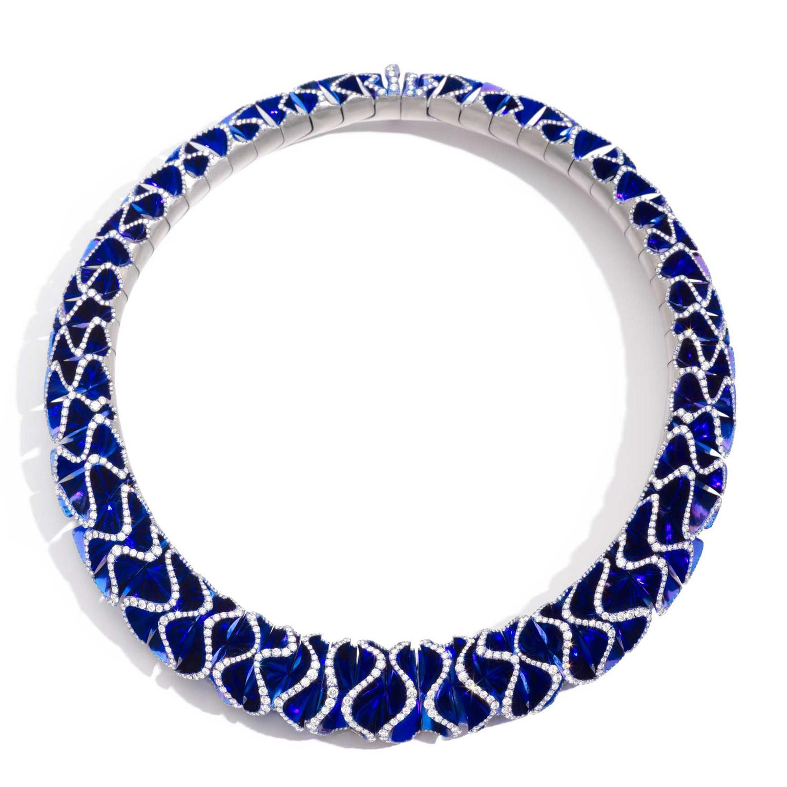 Vhernier Blue Velvet necklace