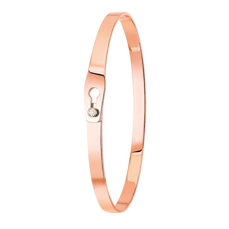 Dinh Van Serrure bracelet in rose gold