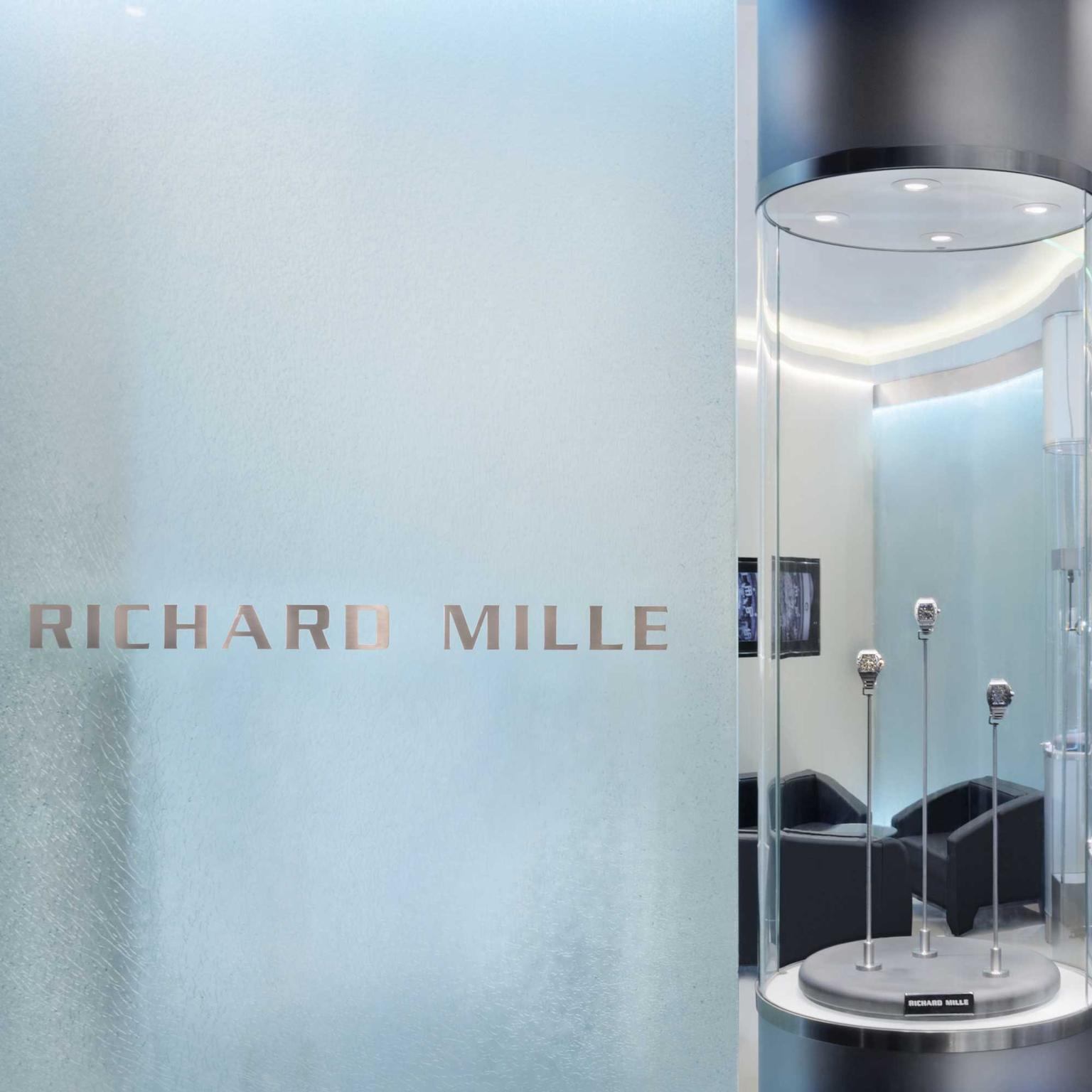 Richard Mille boutique at Harrods in London