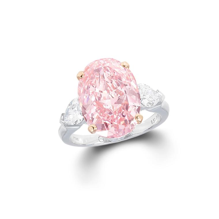 Graff pink diamond ring