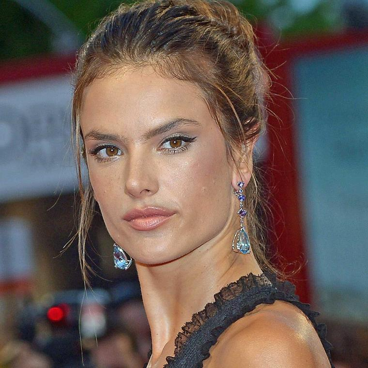 Alessandra Ambrosio at the Spotlight premiere in Venice wearing Chopard