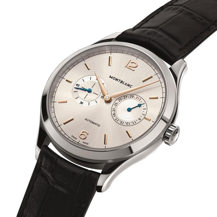 Montblanc Heritage Chronometrie Twincounter Date Mood