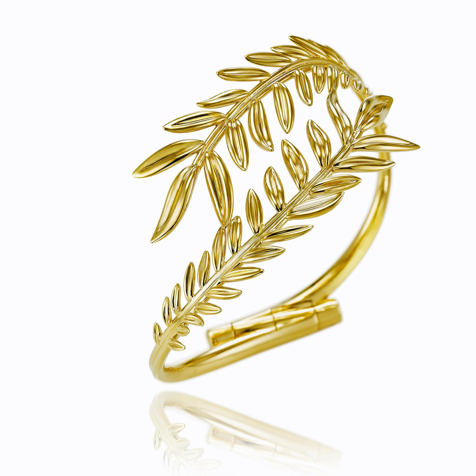 Chopard Palme Verte Fairmined yellow gold bracelet