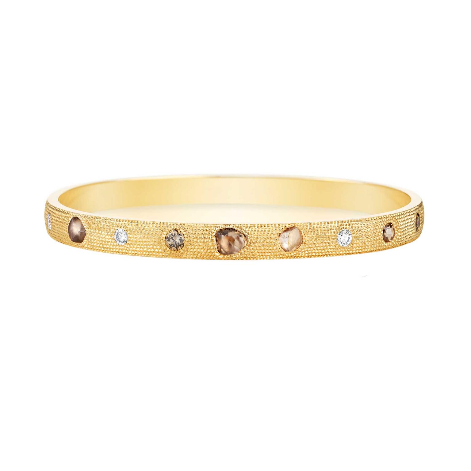 De Beers Talisman rough diamond bracelet