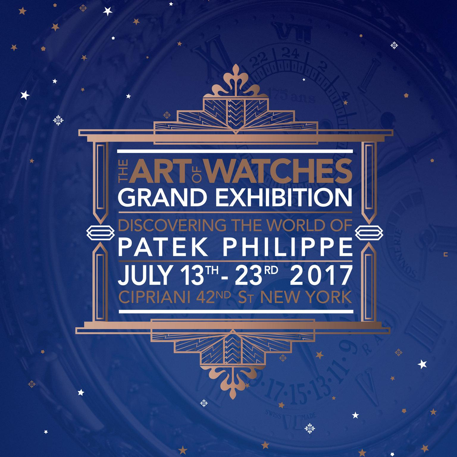 Patek Philippe's The Art of Watches Grand Exhibition logo