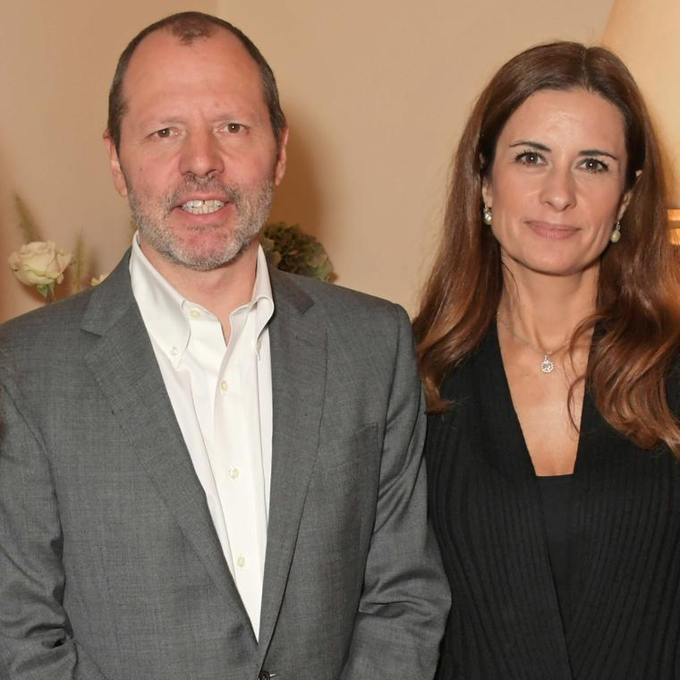 Livia Firth and Jean Marc Lieberherr