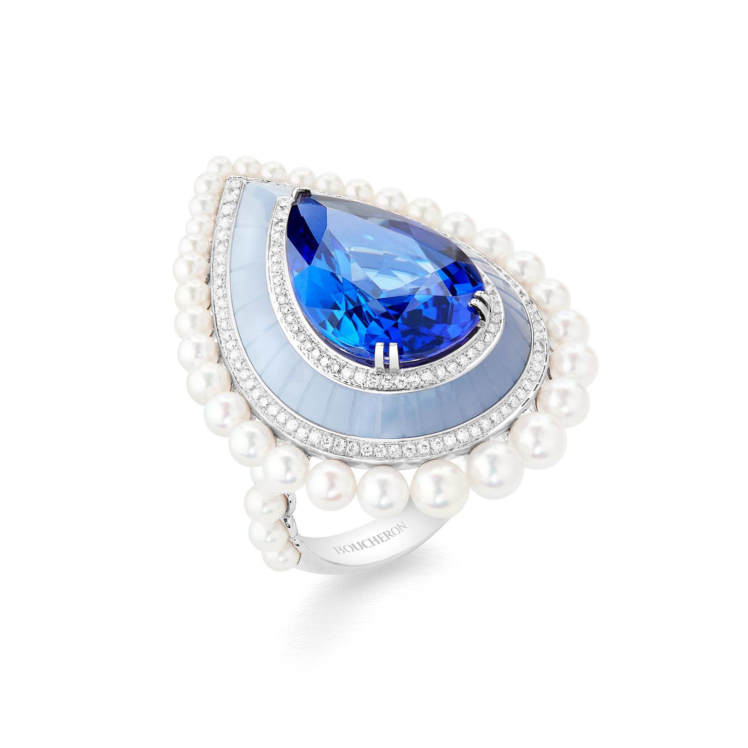 Boucheron Hiver Imperial Dome Graphique ring