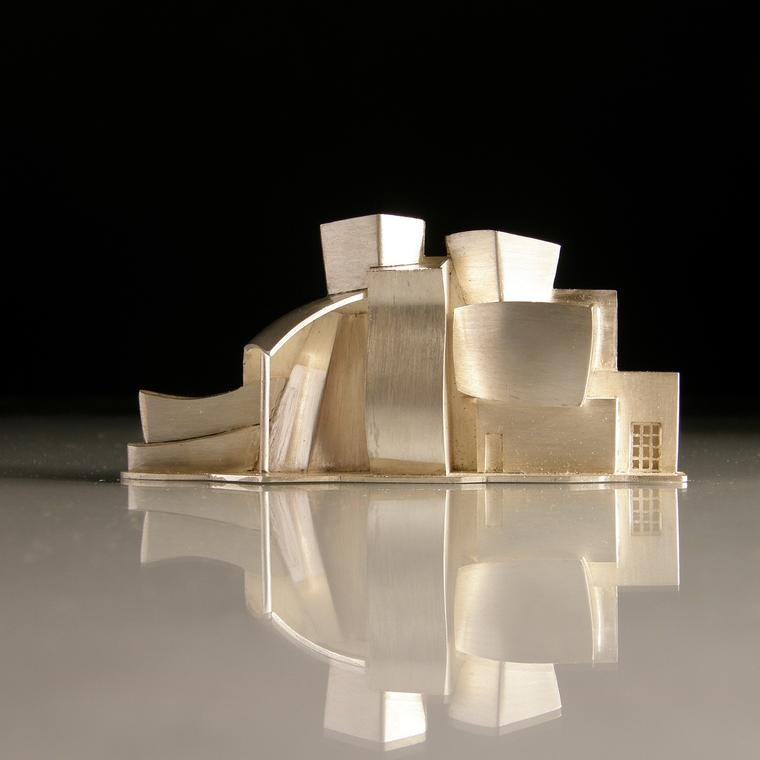 Bilbao Guggenheim Brooch by Vicki Ambery-Smith