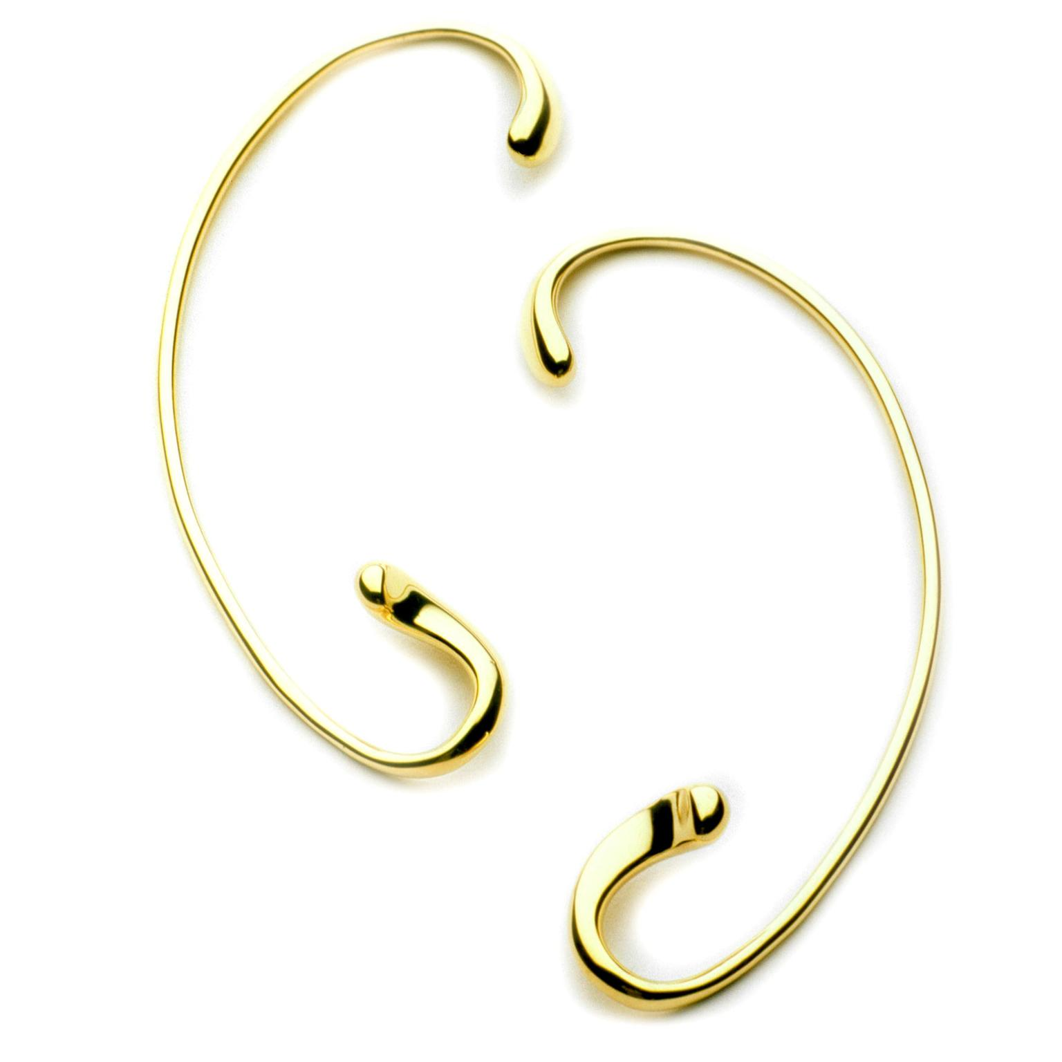 Minas gold ear cuffs
