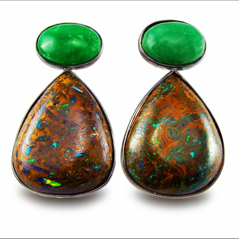 Corrado Giuspino opal earrings