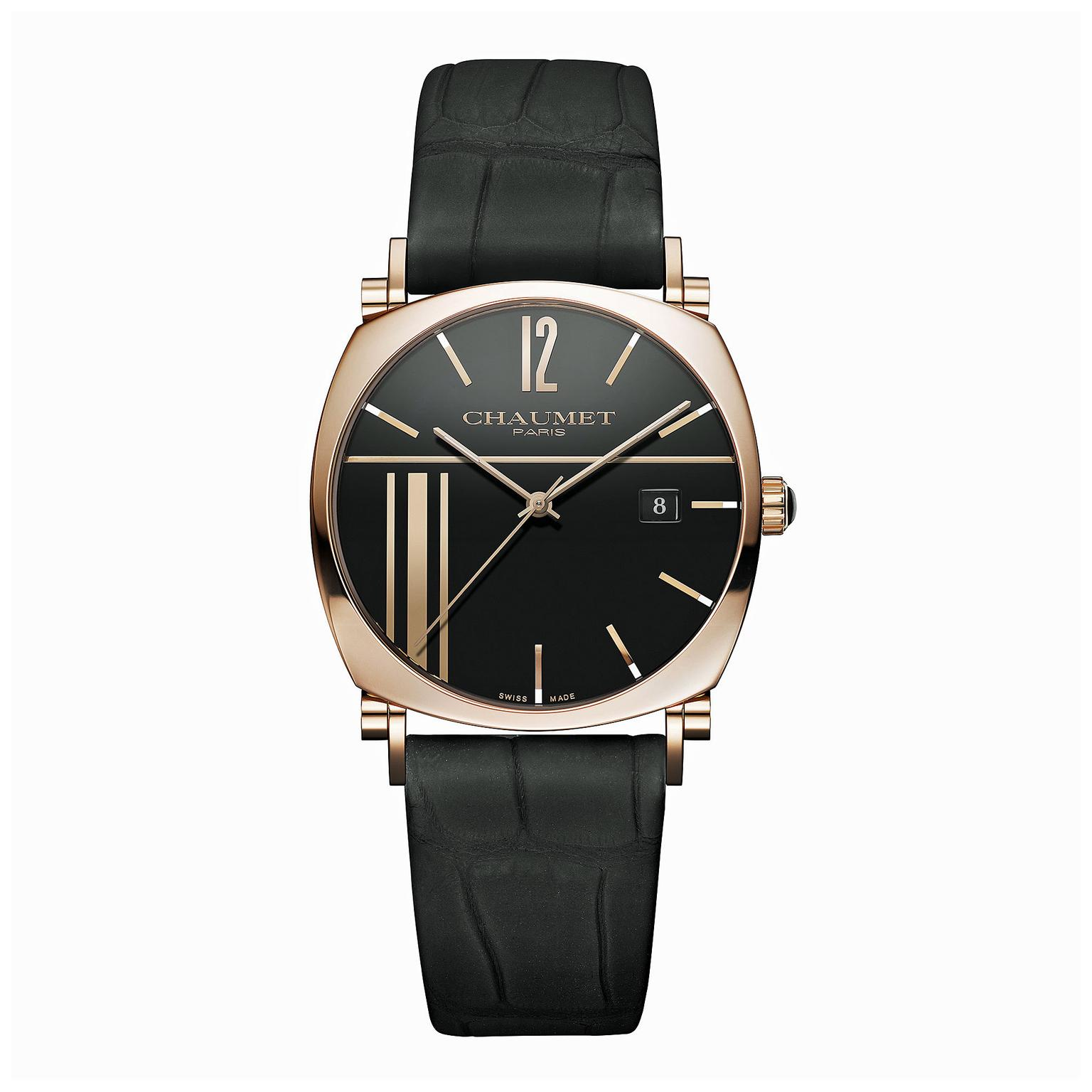 Chaumet Dandy rose gold watch