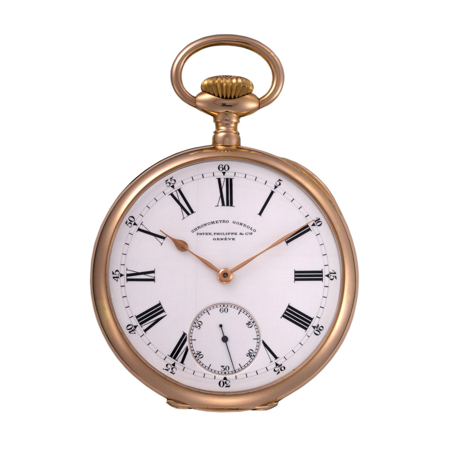 Patek Philippe Gondolo pocket watch 1904