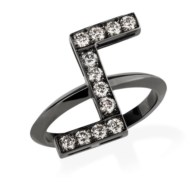Jack Vartanian black gold ring