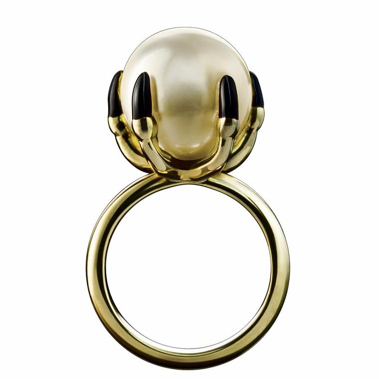 Solange Azagury-Partridge Ball Crusher ring