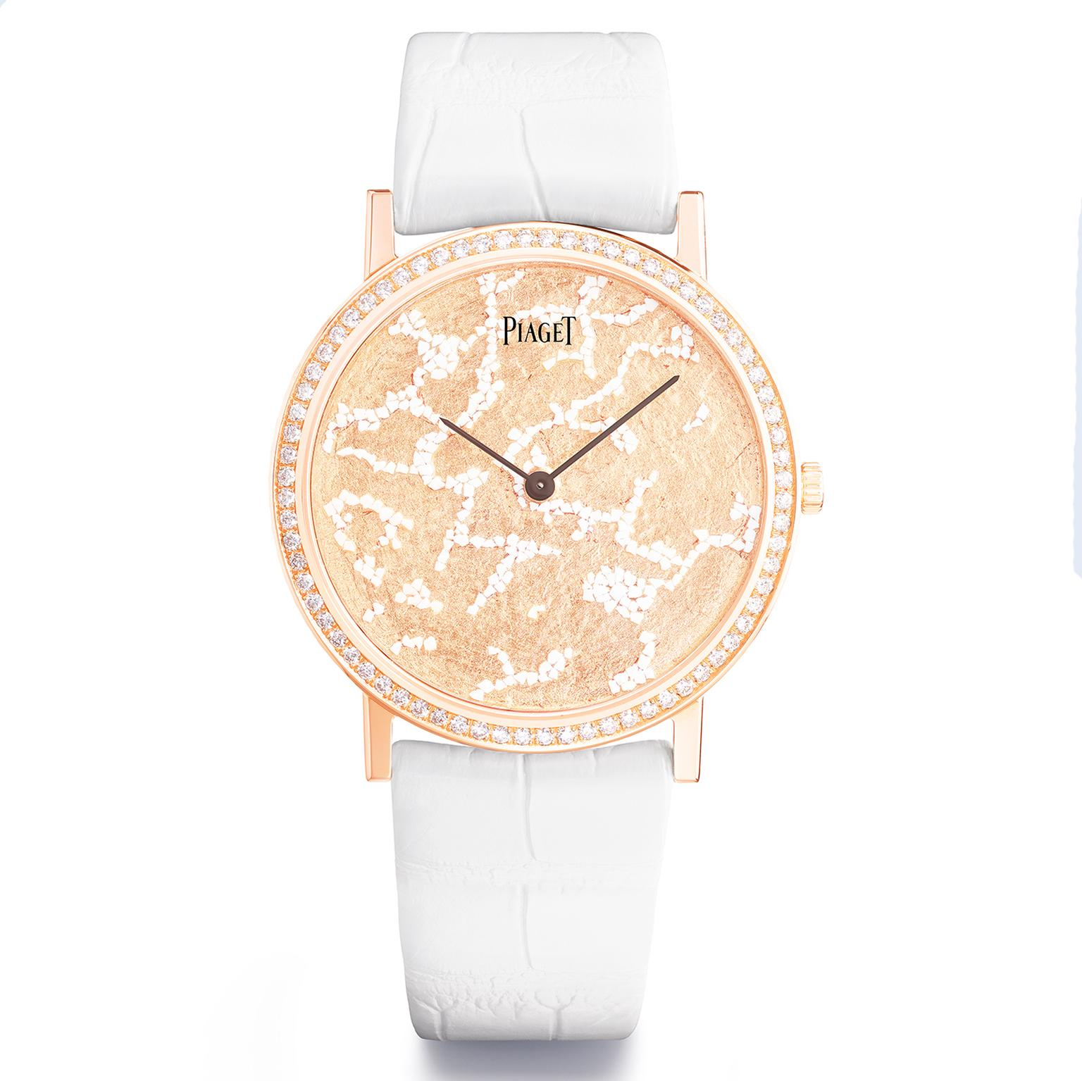 Piaget Altiplano Schiuma d'Oro jewellery watch