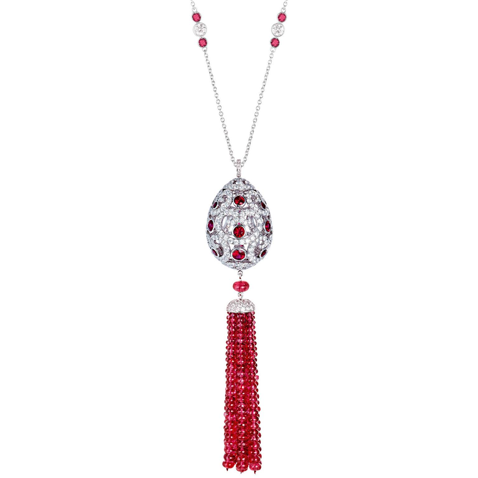 Imperatrice ruby tassel pendant necklace faberg the jewellery faberg imperatrice ruby tassel pendant necklace aloadofball Gallery