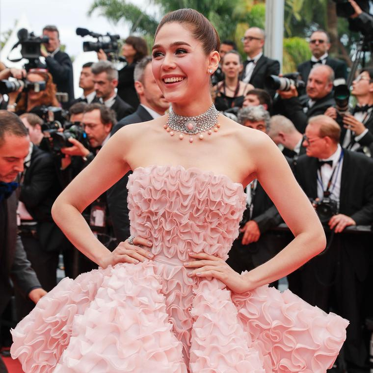 Cannes 2016 Day 1: Araya Hargate in Chopard