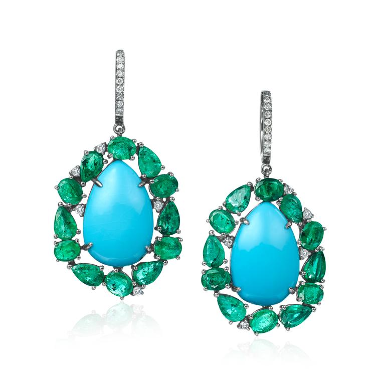 New season turquoise jewellery showcases the many hues of this ancient gemstone