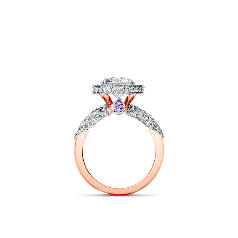 Fairfax & Roberts custom-made engagement ring