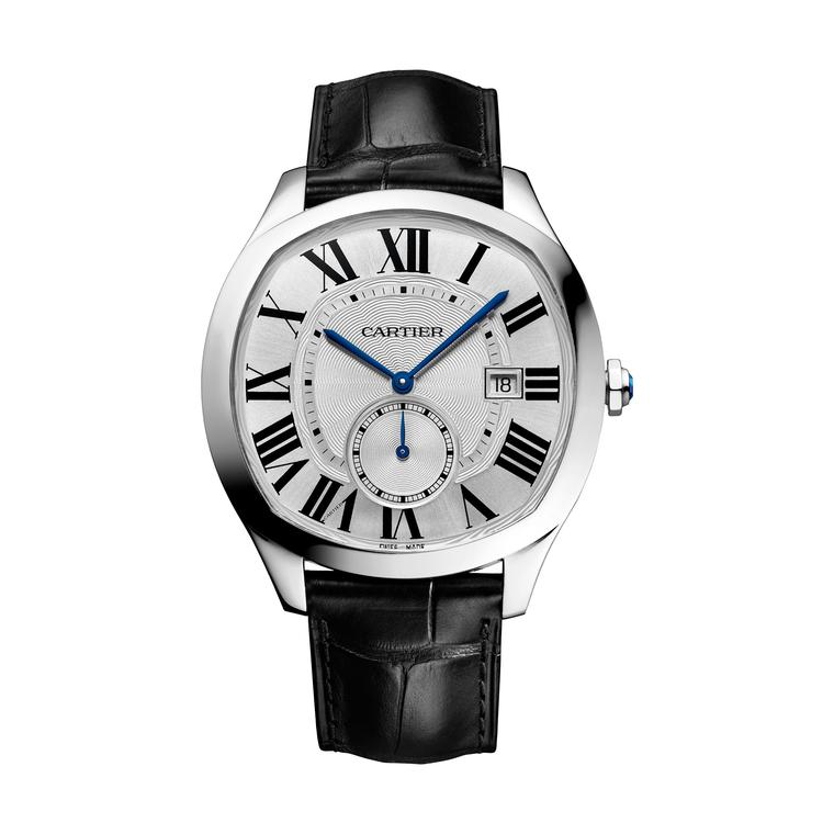 Cartier Drive watch in stainless steel
