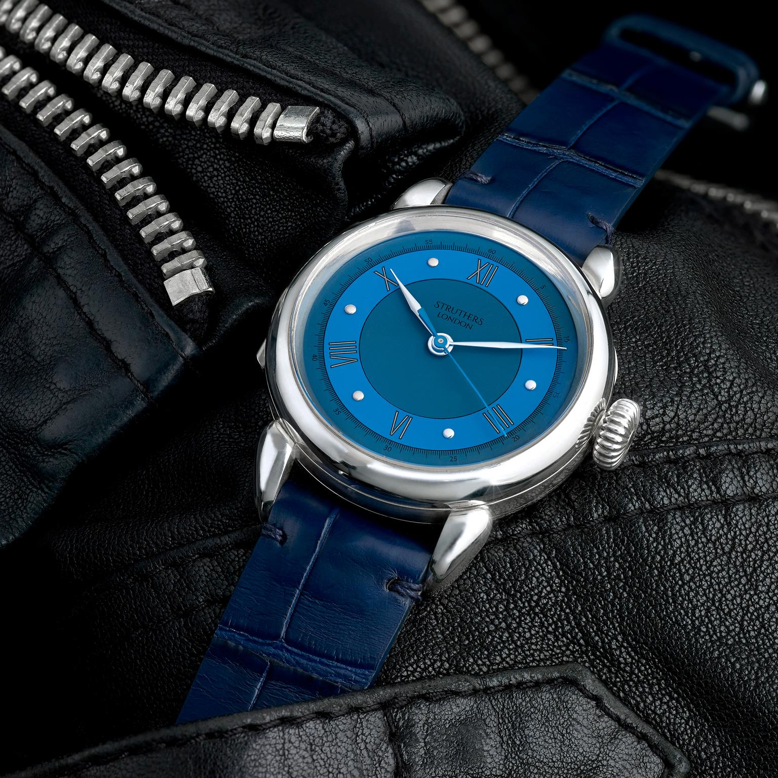 Struthers London's Kingsley customisable watch
