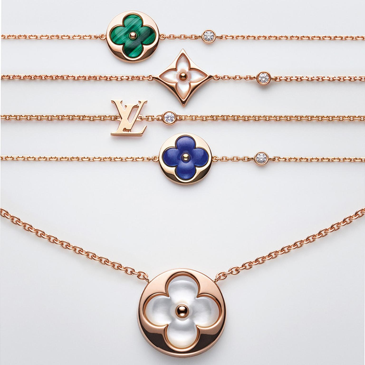 Louis Vuitton Blossom Color BB jewels