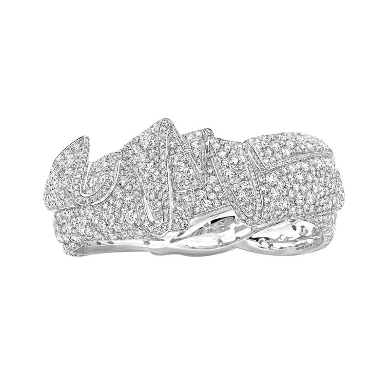 Archi Dior Ailee bracelet in white gold and diamonds