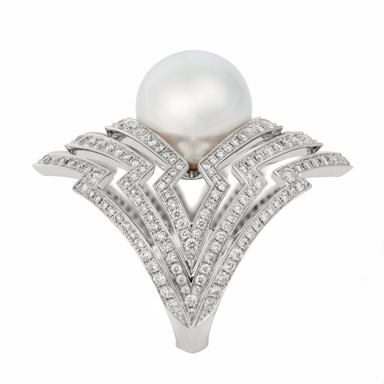 Stephen Webster Lady Stardust Pearl Ring