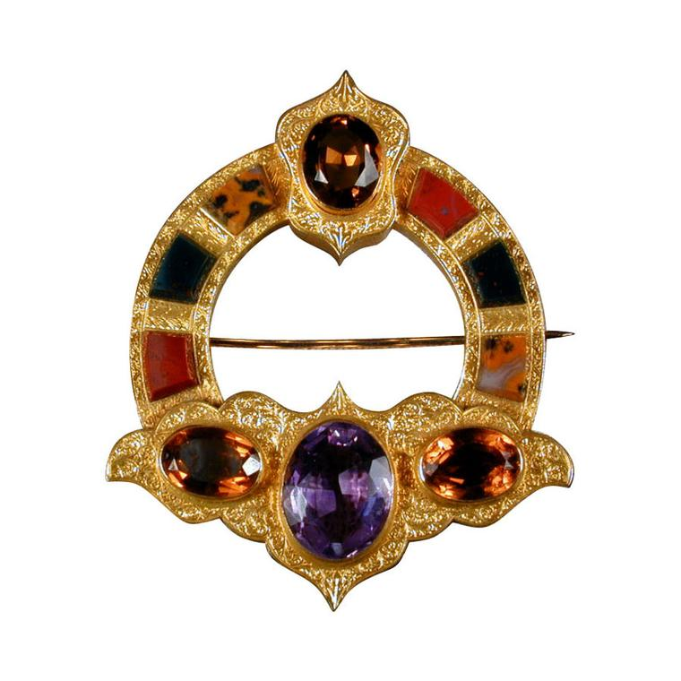 James Robinson Victorian Scottish brooch