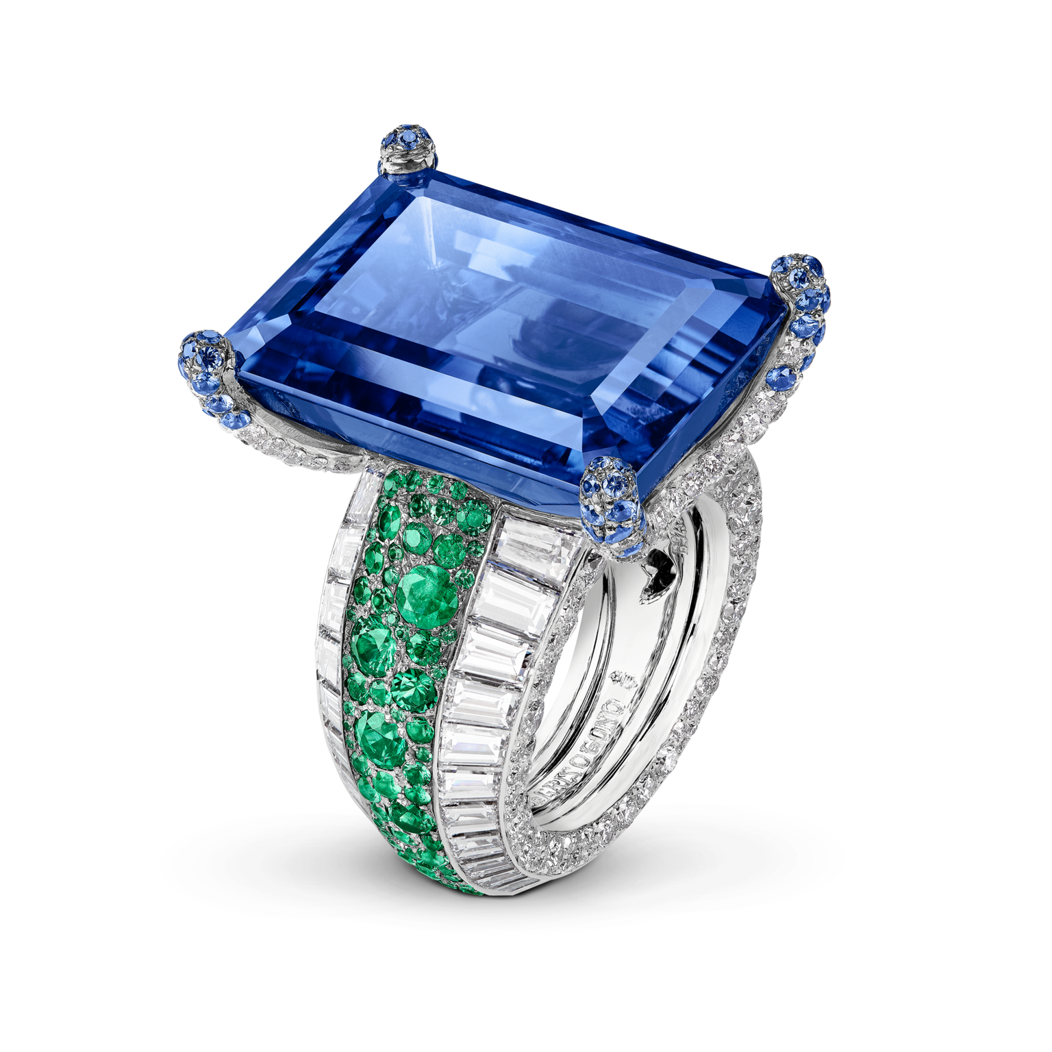 de GRISOGONO Love on the Rocks High Jewellery ring