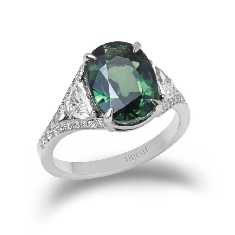 Hirsh-green-sapphire-engagement-ring