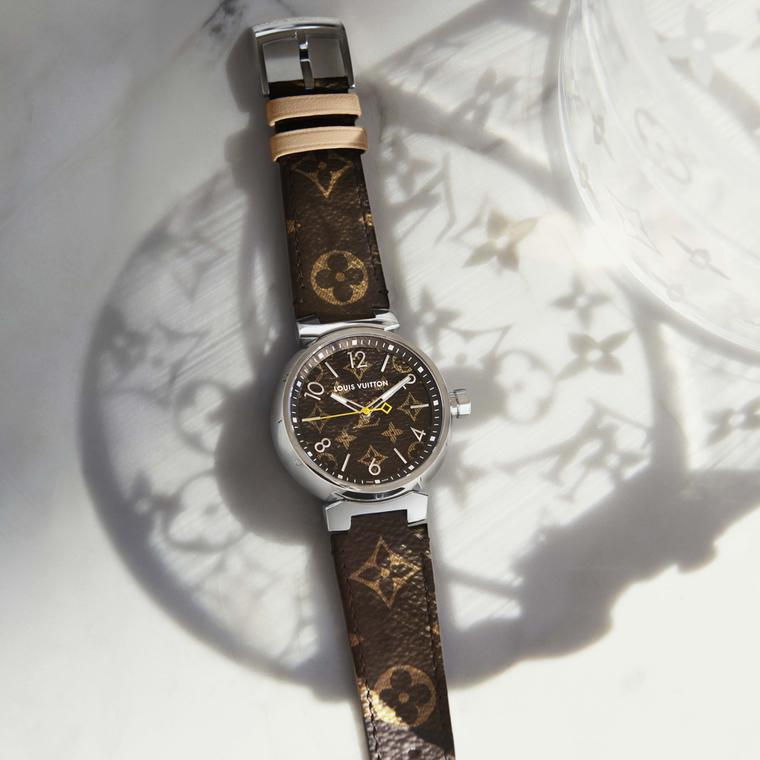 Louis Vuitton Icon Tambour Monogram watch
